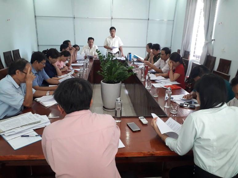 Tân Thạnh tổ chức triển khai kế hoạch tuyển sinh năm học 2020 - 2021
